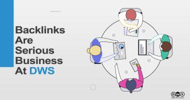 BACKLINKS STRATEGY at Digital Web Solutions- Facebook Poster