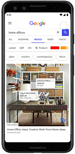 Shoppable Ads on Google Images