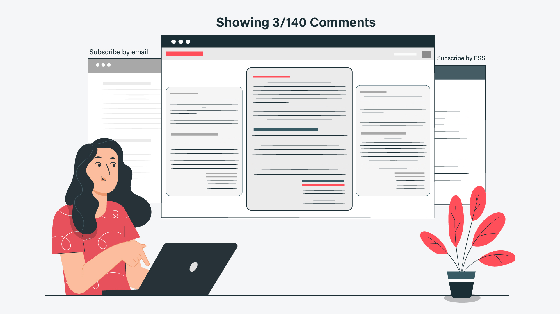 Engage In Comments And Email People Who Wrote Them
