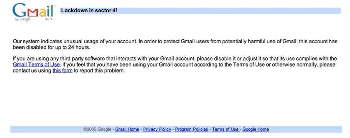 Google Apps Email Sending Limit